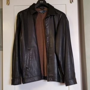 Like-New Ralph Lauren Leather Jacket